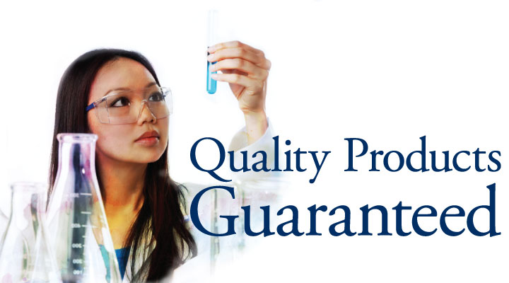 Quality Products Guaranteed